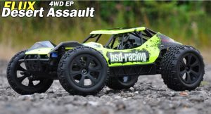 BSD Racing Flux Desert Assault V2 Buggy RTR outdoor