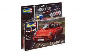 revell 1/24 porsche 911 turbo model set