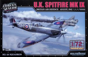 Forces Of Valor 1/72 RAF Spitfire Mk IX 1942