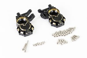 Fastrax TRX-4 Brass BK Front Steering Knuckles (2)
