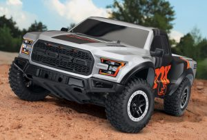 Traxxas 2017 Ford Raptor F150 XL-5 2WD - Fox Edition outdoor
