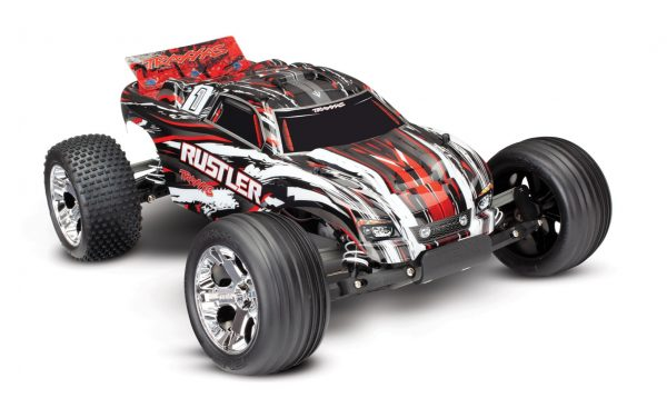 Traxxas Rustler XL-5 iD RTR TRX37054-1 Includes Battery and 12v Charger