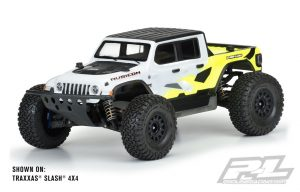 Pro-Line Jeep Gladiator Rubicon Clear Body Senton 3s/ Slash/E-Revo PL3542-00