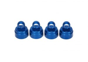 Traxxas Anodized Aluminum Ultra Shock Caps - Blue TRX3767A