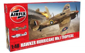 Airfix 1/48 Hawker Hurricane Mk.I Tropical Kit - A05129