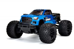 Arrma 1/10 Granite 4x4 V3 MEGA 550 Brushed Monster Truck RTR - Blue - ARA4202V3IT1