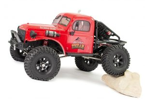 FTX Outback Texan 4x4 1:10 RTR Trail Crawler Red - FTX5590R