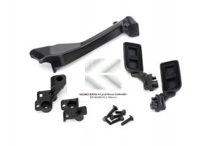 Traxxas TRX-4 Side Mirrors (Left/ Right)/ Snorkel with Mounting Hardware TRX8020