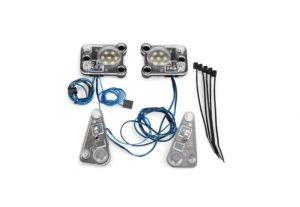 Traxxas LED Head Lights/ Tail Light Kit for TRX-4 Land Rover TRX8027