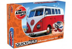 airfix quickbuild vw camper