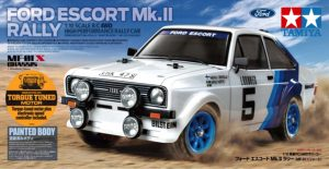 tamiya ford escort mkii rally painted works body 58687