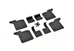 Fastrax TRX-4 Land Rover Defender Rubber Mud Flaps and Aluminium Mounts - FTTX343