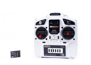 MICROZONE MC6A TRANSMITTER AND RECEIVER PACKAGE (MODE 2)