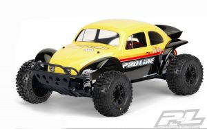 Pro-Line Volkswagen Baja Bug Clear Body (Slash) PL3238-62