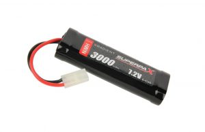 radient 7.2v 3000mah nimh stick type battery