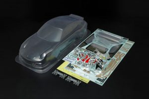 Tamiya Porsche 911 GT3 Cup Clear Bodyshell for 190mm Chassis - 51336