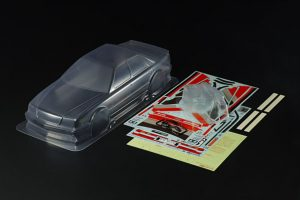 Tamiya Audi V8 Touring Car Clear Bodyshell for 190mm Chassis - 51653
