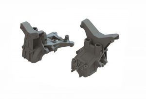 Arrma Front / Rear Composite Upper Gear Box Covers / Shock Towers - AR320399