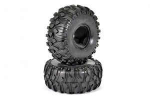 Fastrax 1.9in Boxer Scale Tyres with Inserts for 1/10 Crawlers - FAST1265T