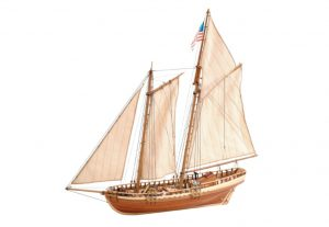 Artesania Latina Virginia American Schooner 1819 - Wooden Model Kit - AL22135