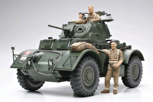 Tamiya 1/35 Staghound Mk 1 British Armored Car Kit with Photo-Etched Parts - 89770
