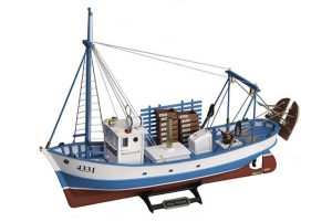 Artesania Latina Mare Nostrum Fishing Boat - Painted Wooden Model Kit - AL20100