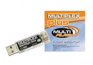 Multiplex MULTIflight Simulator Dongle And Cd Plus - 85165