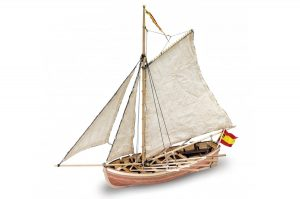 Artesania Latina San Juan Nepomuceno's Captains Boat 1/25 - Wooden Model Kit - AL18010