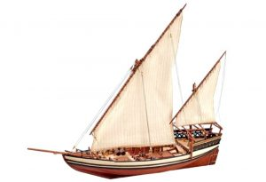 Artesania Latina Sultan Arab Dhow 1/85 - Wooden Model Kit - AL22165