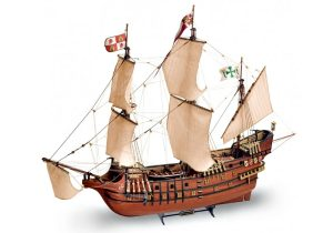 Artesania Latina Galleon San Francisco II 1/90 - Wooden Model Kit - AL22452