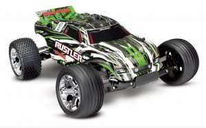 Traxxas Rustler XL-5 iD RTR Includes Battery and 12v Charger - TRX37054-1-GRN