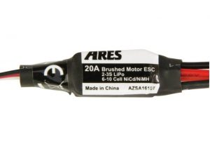 Ares 20a esc for brushed motor