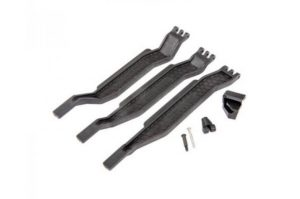 Traxxas Rustler 4x4 Battery Hold Down Bar Set Including Post and Screw - TRX6726X