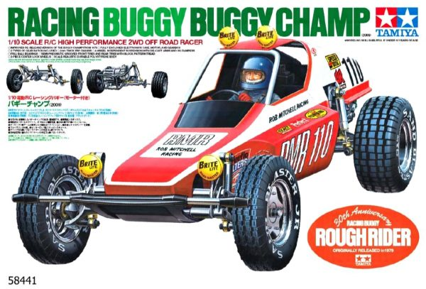 Tamiya Racing Buggy - rough rider box art