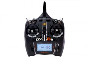 spektrum dx8e front view